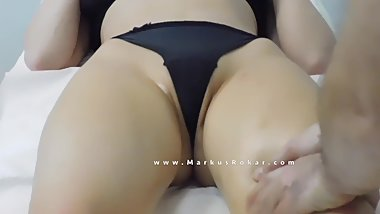 Sexy Milf with Sexy Big Ass in a 40 minutes video at Massage Room