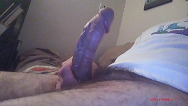 kiss this large cock and it will squirt!