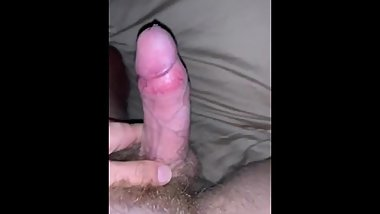 Big cock relaxation with huge explosion after New Year got me very horny
