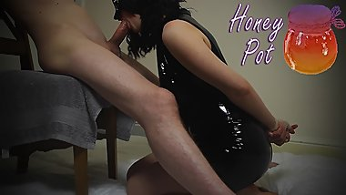 Submissive Slut British Amateur Kinky Fuck In PVC Playsuit - Honey Pot