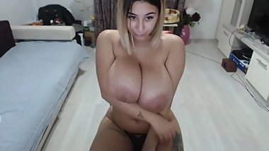 Latina Huge Natural Boobs