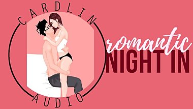ASMR Erotica: How about a romantic night IN? Let's stay home, love