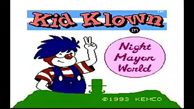 Clown in Night Mayor World Game Review (NES)