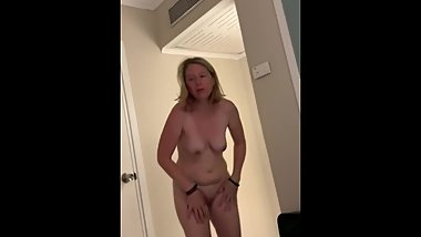 Mom walks around hotel naked stepson asks for a blowjob