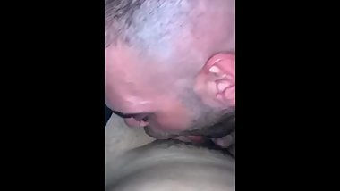 Deep bj of and old daddy in the car