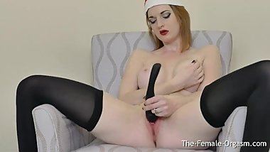 Santas Femorg Redhead Elf Needs a Real Throbbing Orgasm Too