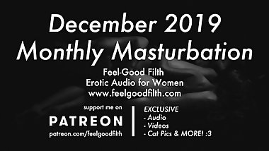 FanClub Exclusive Monthly Masturbation: Dec 2019 (Erotic Audio for Women)