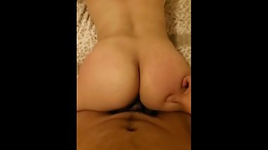 18 year old white girl loves getting fucked