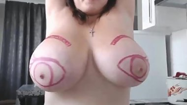 Painted Boobs