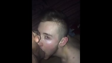 Twink sucking another daddy