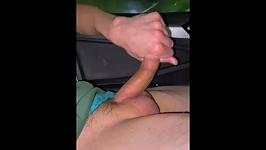 Bwc gets stroked, come suck daddy dick, jerkoff in public