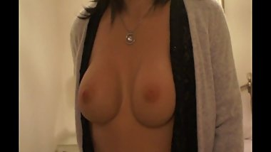 My tits in your face