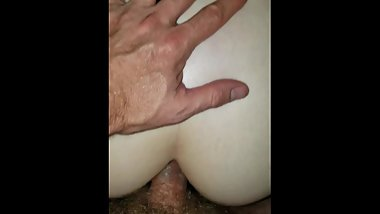 Fucking my wife's puussy and tight ass switching back and forth