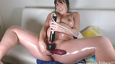 Full Oiled Preggo Gape Cum HD