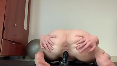 Sexy Emily Rose Riding bbc until she cums