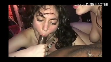 White girls love sucking bbc.