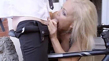 glamour petite interracial cock sucking tiny hot black cock cum in mouth sm