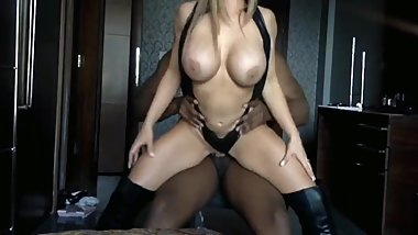 Naughty snapchat model gets hard drilled by her black best friend