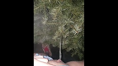 Girl Pees On Neighbors Christmas Tree After Christmas