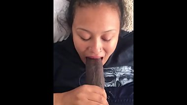 STRETCH MY LATINA COUSIN MOUTH WITH MY BBC