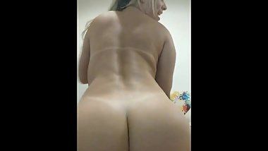 Brazilian Blonde Naked Dance