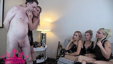 Ballbusting at the Ball Drop Party