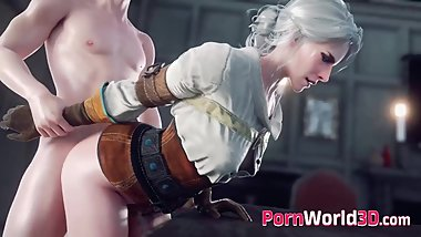 Video Games 3D Girls with Perfect Body Fuck in All Poses