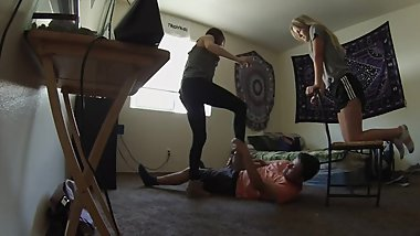 amateur ballbusting part 3