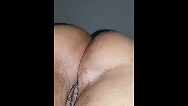 Ebony bbw pussy and ass dripping wet, Loves sucking white cocks