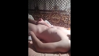 Return to sensual edging myself with huge cumshot