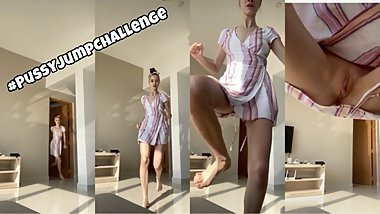 Your face is my target (#pussyjumpchallenge) - SolaZola