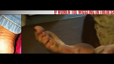 Clips4Sale Preview Former Gymnast Dirty Toe Pointing