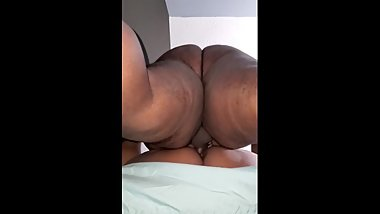 BBW housewife gets christmas creampie by chubby BHM  part2. ASMR.