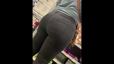 Milf big booty at store