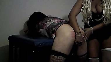 Sissy sluts asshole fingered before being buttfucked by MD's lil blk strap