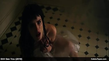 teen celebrity Bella Thorne naked in shower and underwear scenes