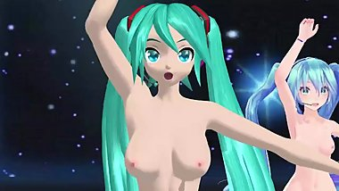 【MMD】気まぐれメルシィ by 5 types of Hatune Miku.Which one do you like?