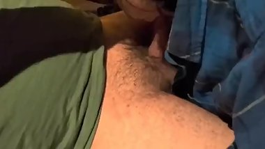 KINKY NEIGHBOR: A-Bomb Fucks Sucks Swallows Neighbor Boy in Front of Uncle