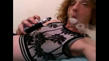 Vaping & Transgirl RP Greeting/Saying G'bye Walking on Stairs (SFW)