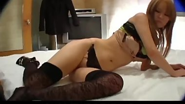 Hitomi in seductive amateur scenes with a random guy - More at 69avs com