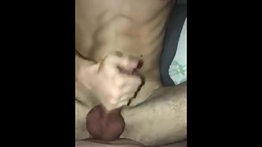 Teen twink begging daddy for more