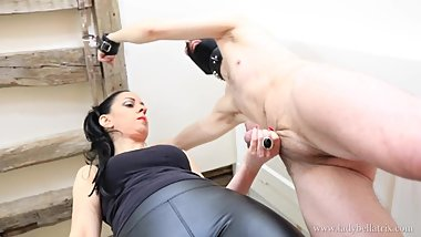 Wearing His Balls Like a Trophy - Castration Fantasy