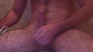 Submissive Boy's 4 Inch Penis Gets Ruined Vibrator Wand Orgasm