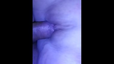 Teasing the wifes pussy....wet!!!