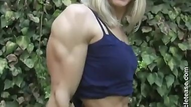 Female muscle Flex